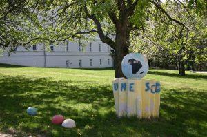 Garten des Erzbischöflichen Gymnasiums Hollabrunn