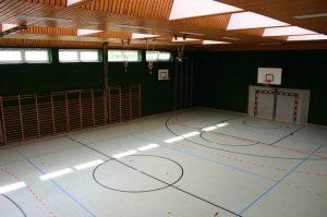 Turnsaal des Erzbischöflichen Gymnasiums Hollabrunn