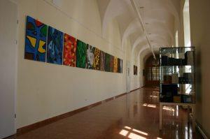 Zweiter Stock des Erzbischöflichen Gymnasiums Hollabrunn