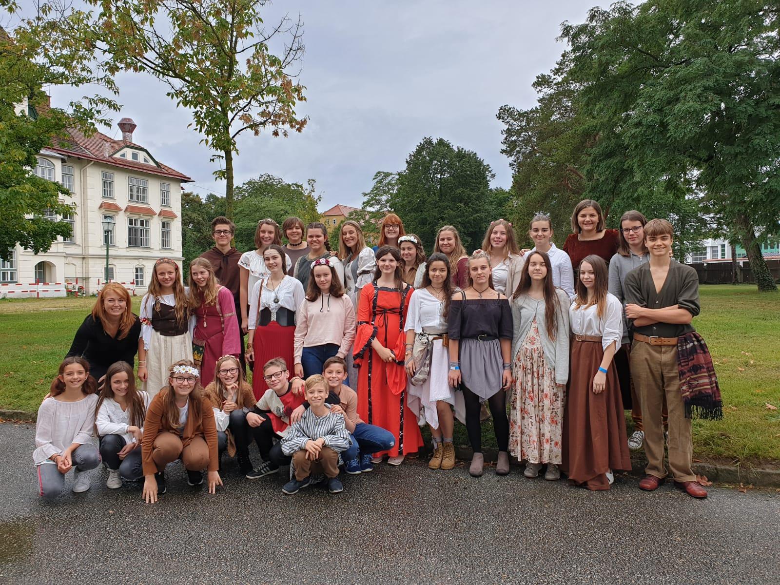 WPF Musik: Auftritt am Mittelalterfest