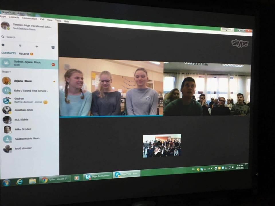 Skype-Konferenz