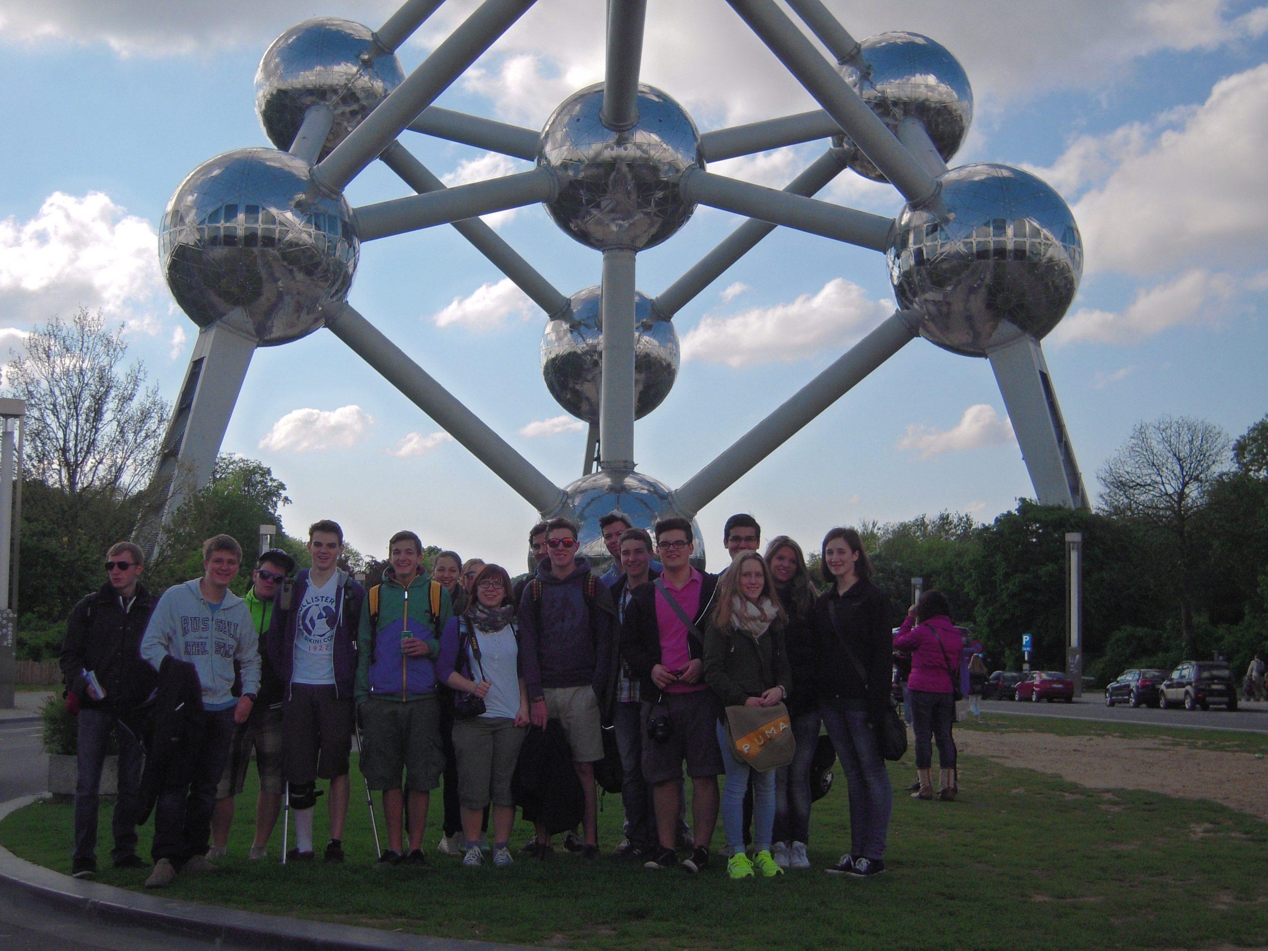 WPF Geografie: Brüssel-Reise
